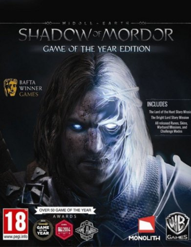 Middle-Earth: Shadow of Mordor - Game of the Year Edition (v1951.27/2015/RUS/ENG) RePack от FitGirl