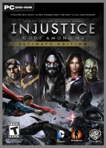 Injustice: Gods Among Us. Ultimate Edition (Update 5/2013/RUS/ENG) RePack от R.G. Механики