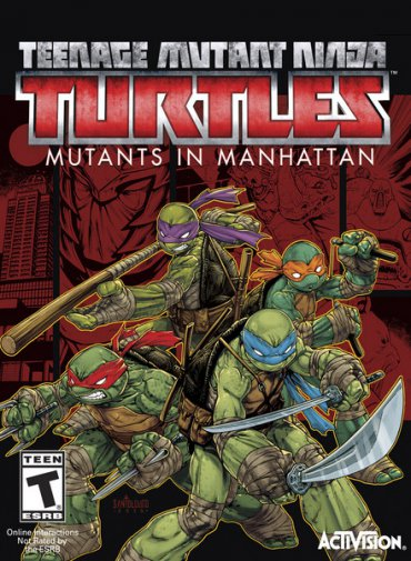 Teenage Mutant Ninja Turtles: Mutants in Manhattan (2016/ENG/MULTI5)
