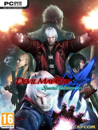 Devil May Cry 4: Special Edition (v1.1/2015/RUS/ENG/MULTI7) RePack от R.G. Механики
