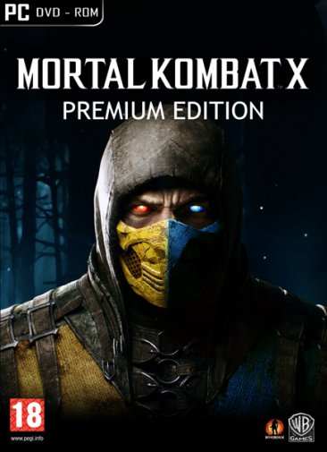 Mortal Kombat X Premium Edition (2015/RUS/MULTI8) Steam-Rip R.G. GameWorks