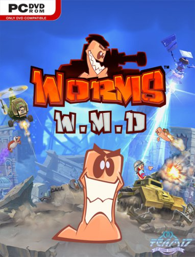 Worms W.M.D (Update 3/2016/RUS/ENG/MULTi7) RePack от GAMER