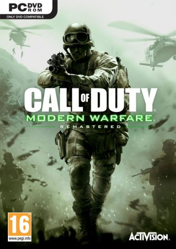 Call of Duty: Modern Warfare - Remastered (v.1.7.83/u4/2016/RUS/ENG/Rip R.G. Revenants)
