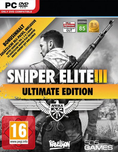 Sniper Elite 3: Ultimate Edition (v1.15а + все DLCs/2014/RUS/ENG/RePack от R.G. Механики)
