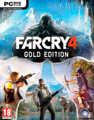 Far Cry 4: Gold Edition (v1.10/2014/RUS/Uplay-Rip by Fisher)